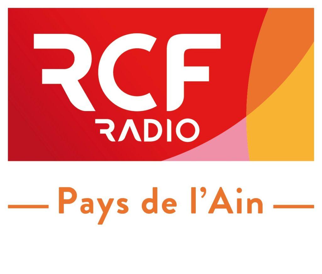 logo de la radio RCF 'pays de l'Ain'