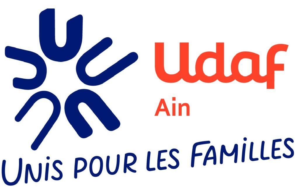 Logo Udaf01 : unis pour les familles